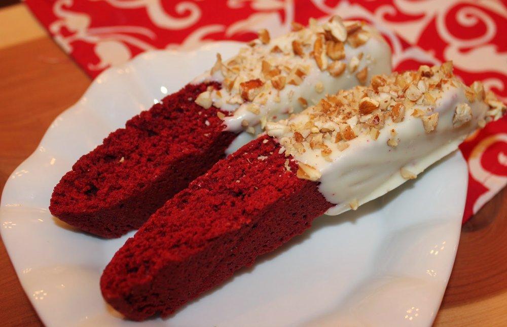 Red Velvet Biscotti