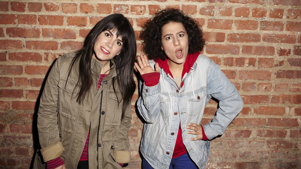 BROAD CITY -- Upright Citizens Brigade alums Abbi Jacobson and Ilana Glazer bring their critically-acclaimed digital series to Comedy Central as a weekly, half-hour scripted series beginning Wednesday, January 22 at 10:30 p.m. ET/PT.