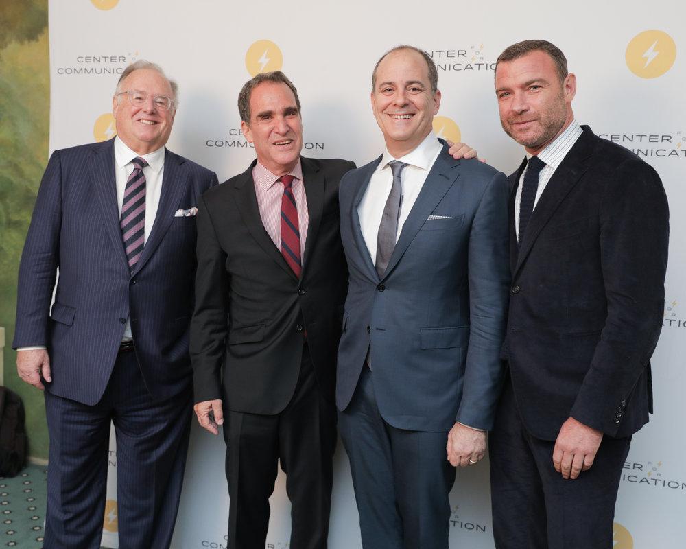 David Barrett, J. Max Robins, David Nevins, Liev Schreiber