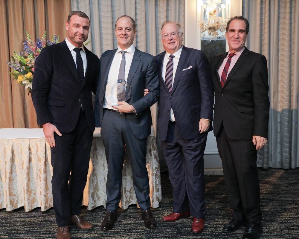 Liev Schreiber, David Nevins, David Barrett, J. Max Robins