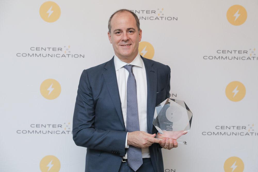 David Nevins, 2018 Frank Stanton Honoree
