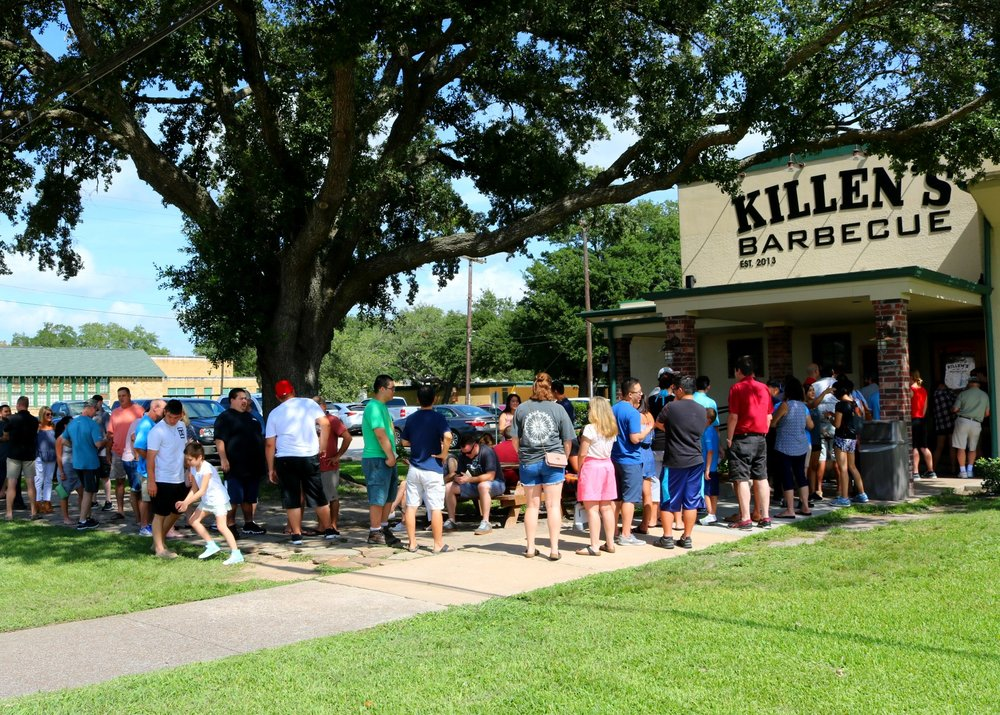 Killen's line at ~11am (opening)
