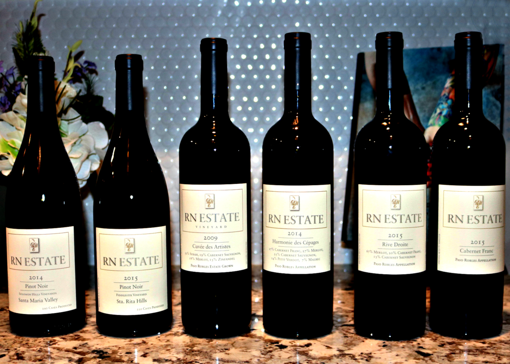 Our October Wine Club Shipment from RN Estate