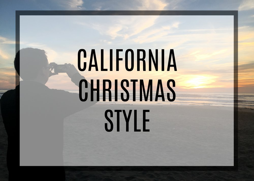 Positively Pringle California Christmas Style Post