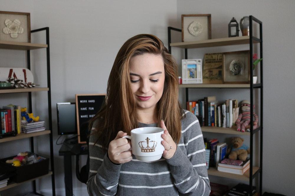 Coffee love productive
