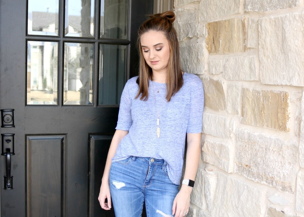 casual every day look american eagle
