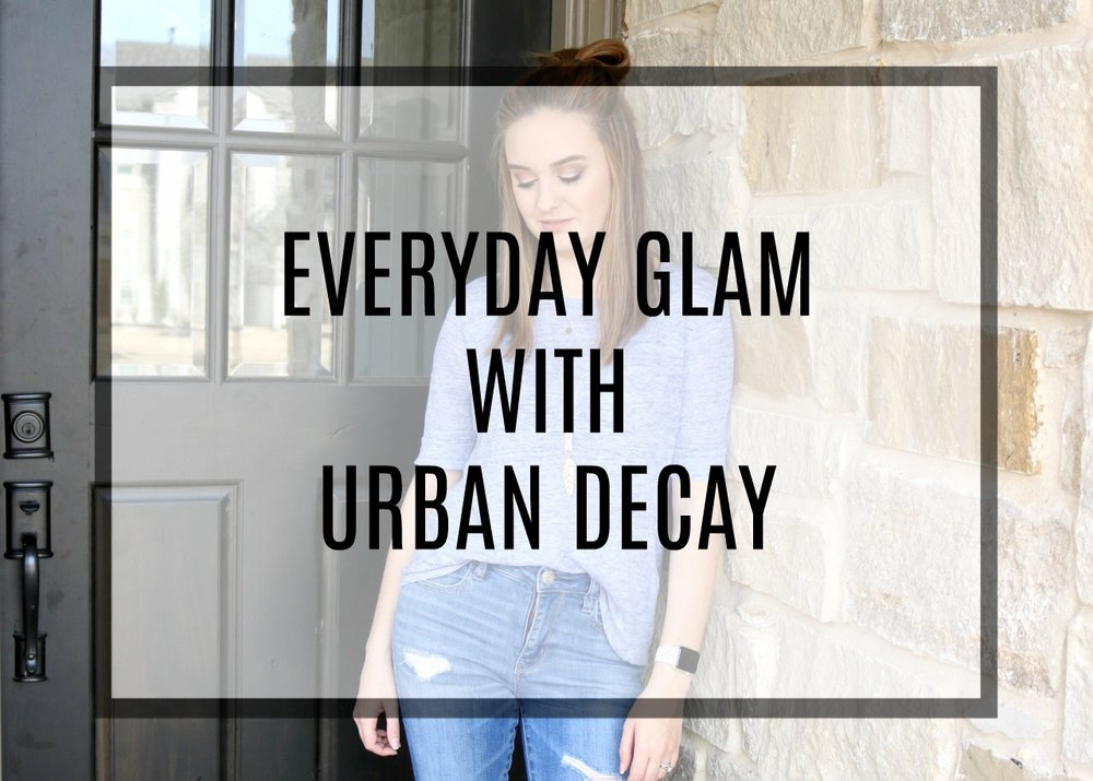 everyday glam with Urban Decay