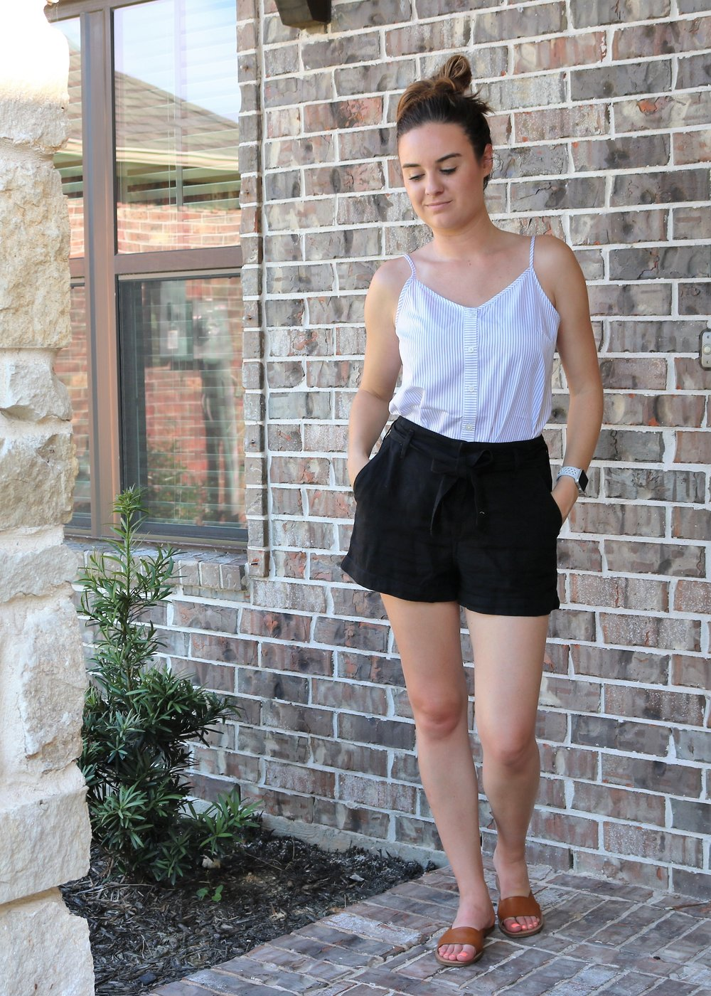 summer staples ambercrombie high waisted shorts