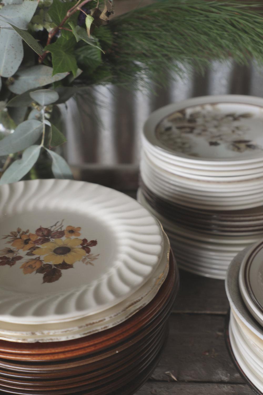 crown lynn plates
