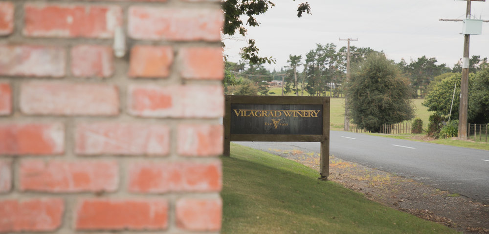 vilagrad winery sign