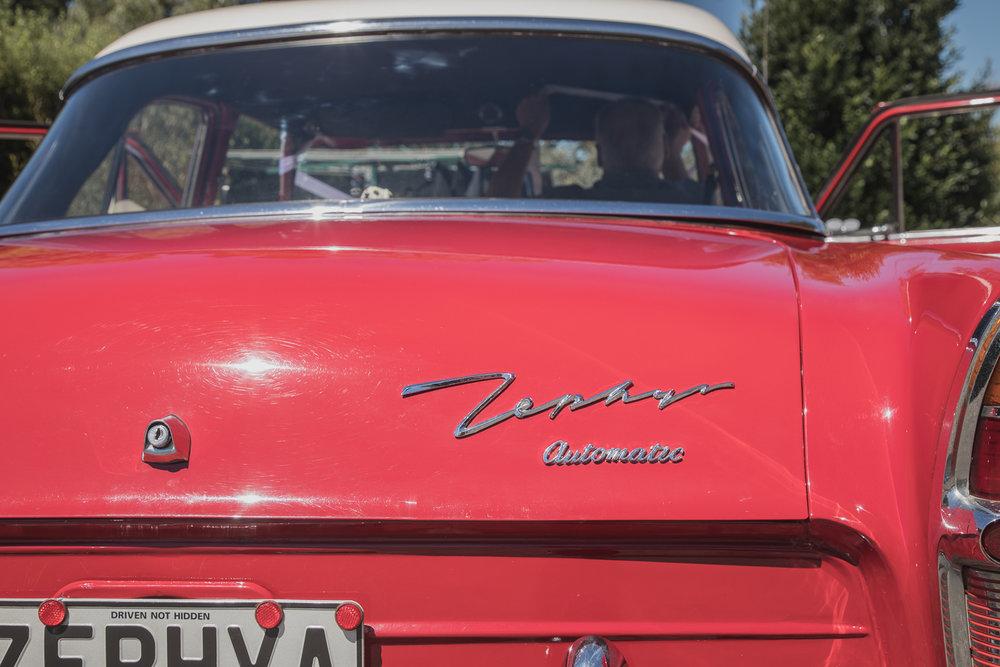 wedding car zephyr