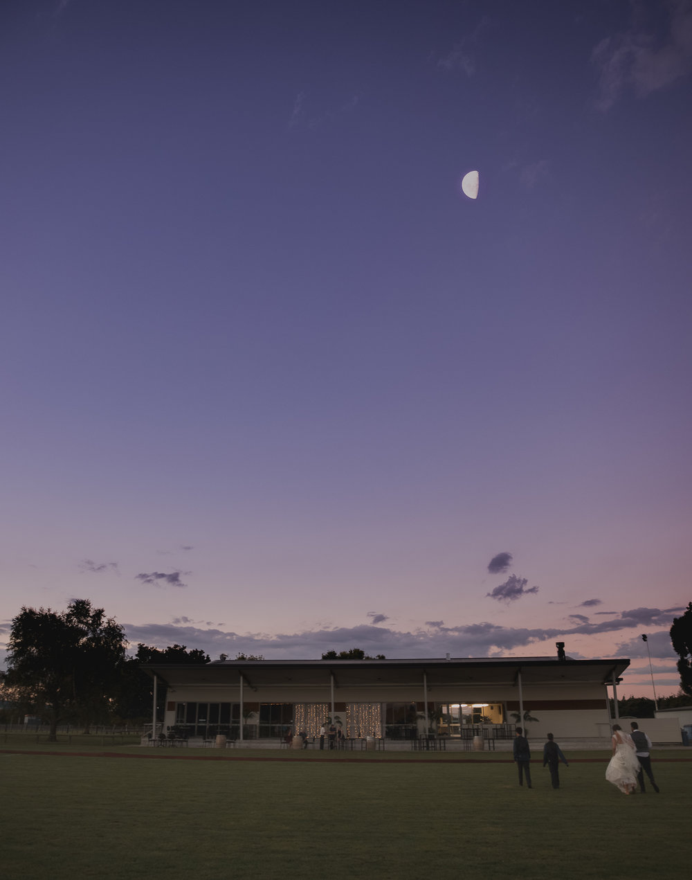 sunset at Elwood Function Centre