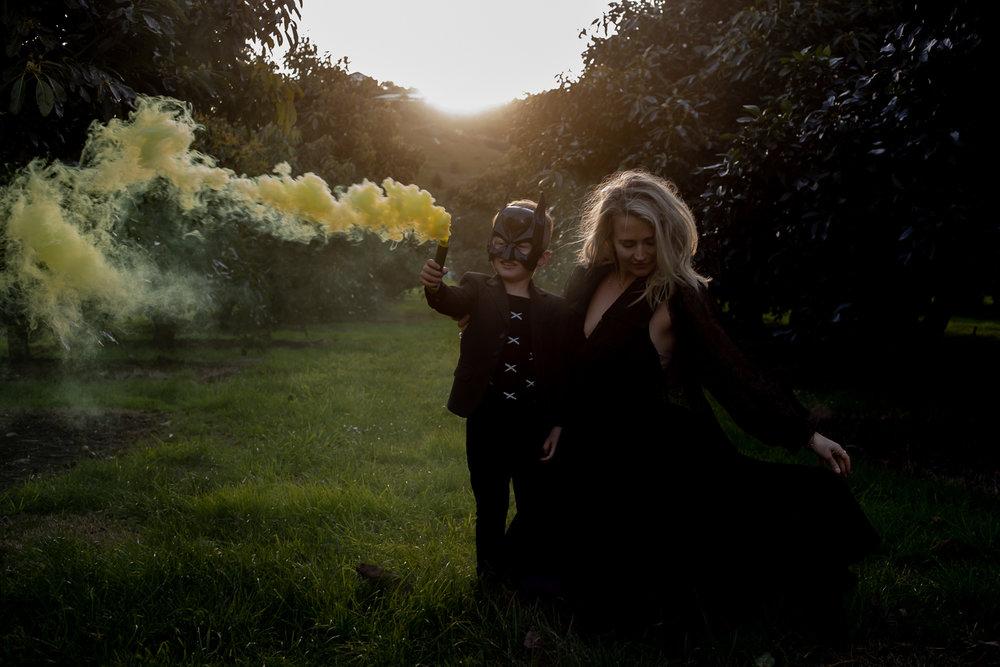 yellow smoke bomb love