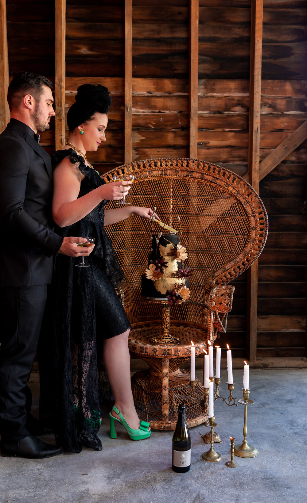 Styled wedding shoot at Black Barn Winery in Hawkes Bay