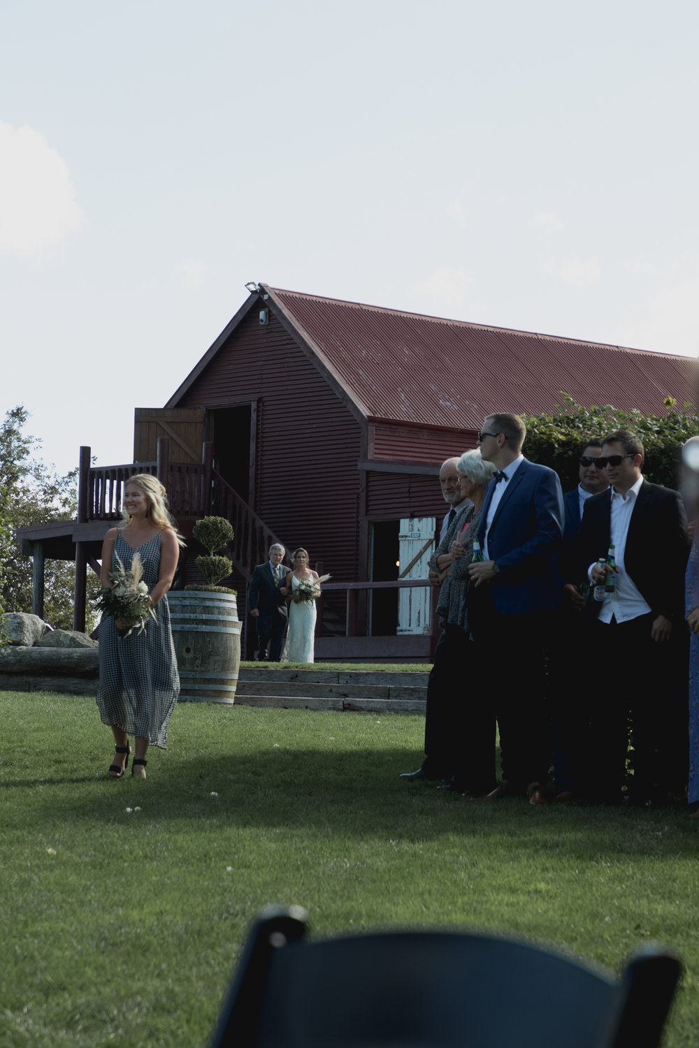 rural new zealand wedding