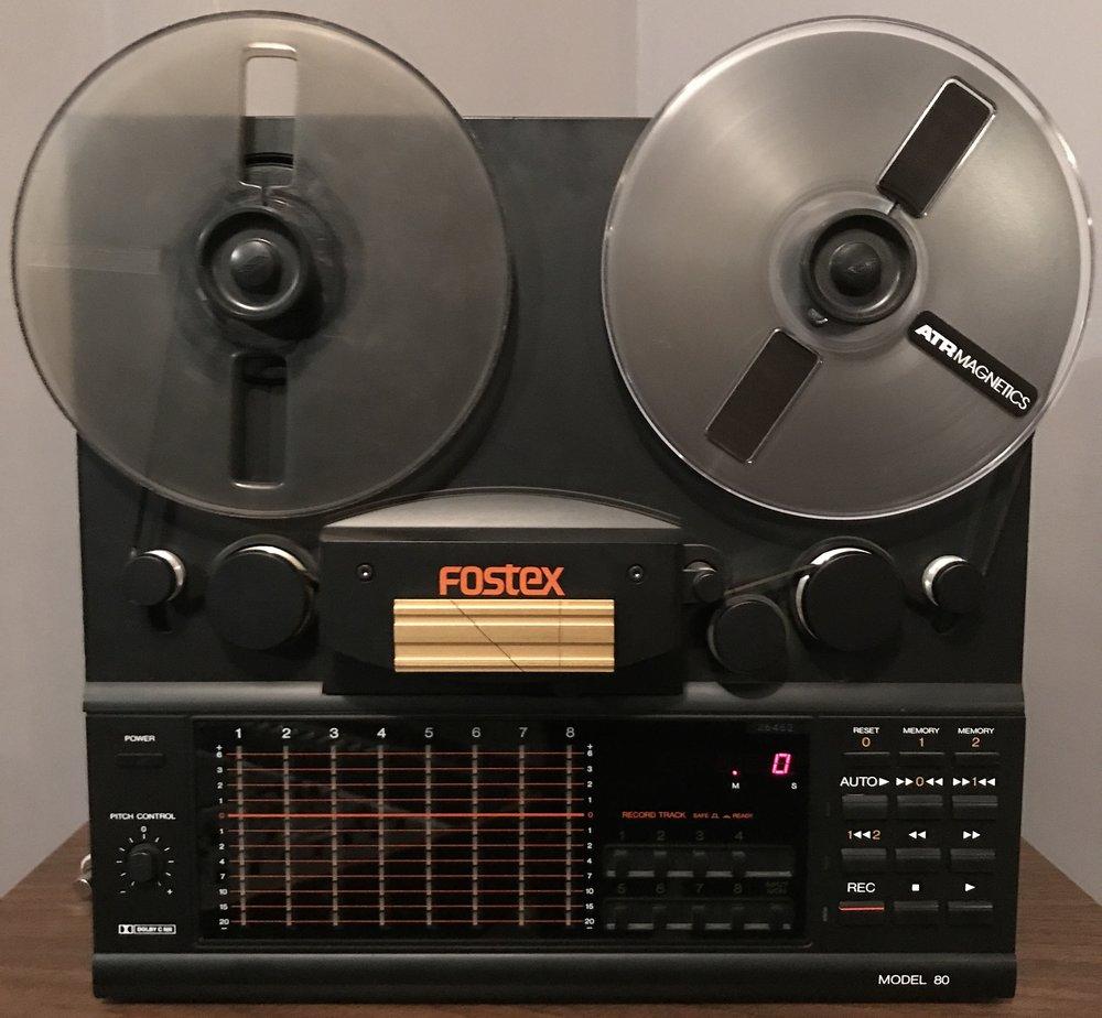 "Fostex Model 80 8Track 1/4"" tape"