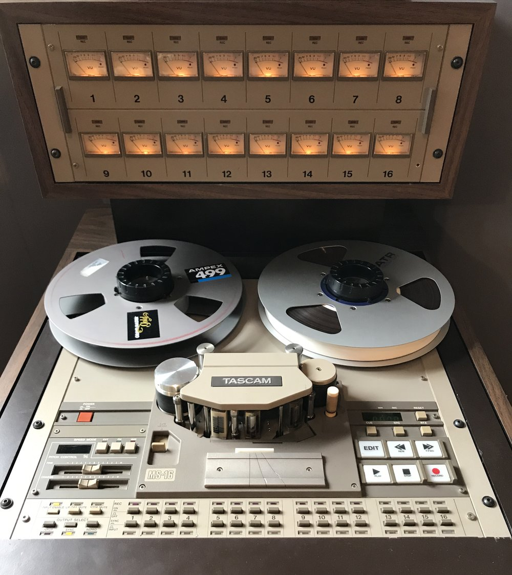 "Tascam MS-16 16 Track 1"" tape"
