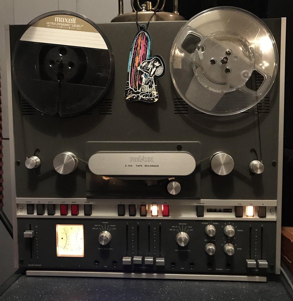 "Revox A700 2 Track 1/4"" tape"