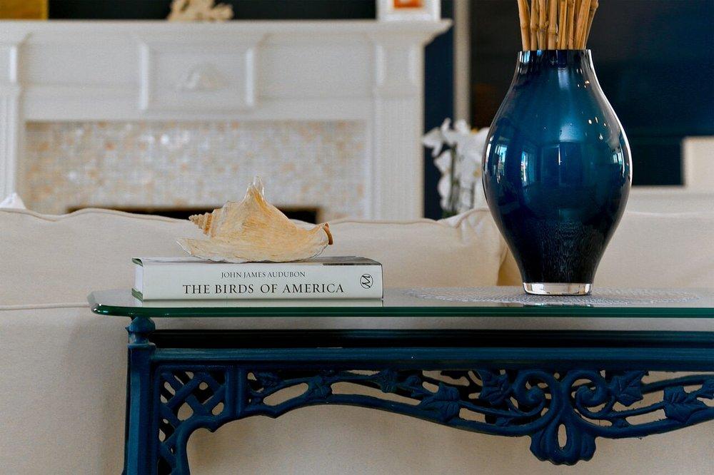 Santa Rosa Living Room Closeup