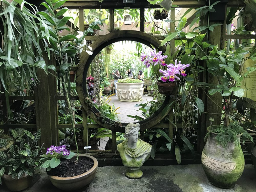 Portal at the  Conservatory of Flowers  today