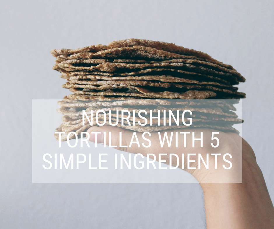 simple sourdough tortilla workshop