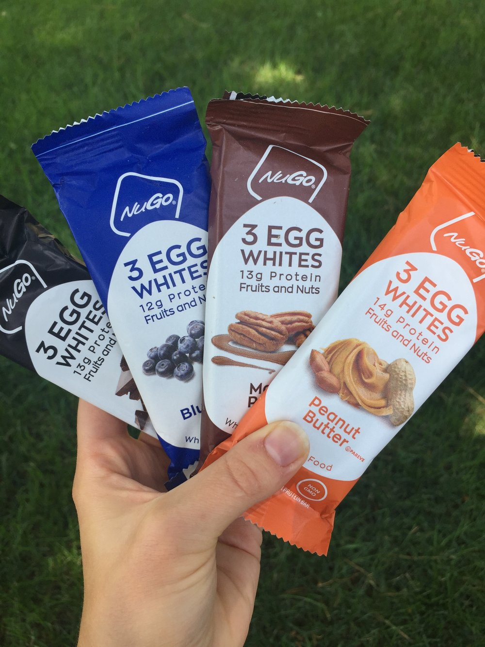 Nugo nutrition bars with egg whites