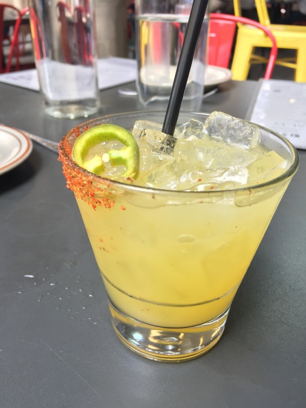 Los Chingones spicy margarita