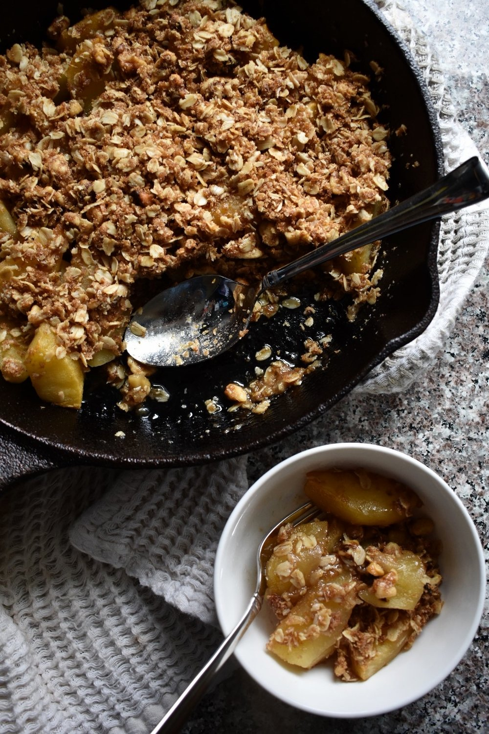 Breakfast-Worthy Apple Crisp