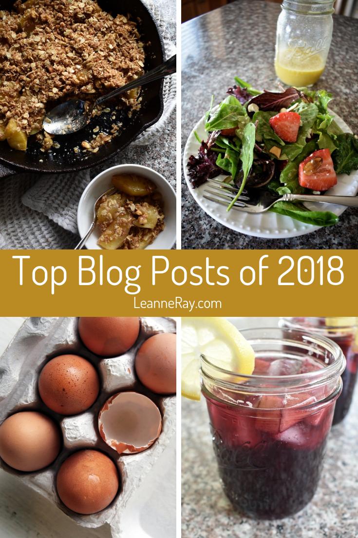 Top Ten Blog Posts of 2018 on LeanneRay.com