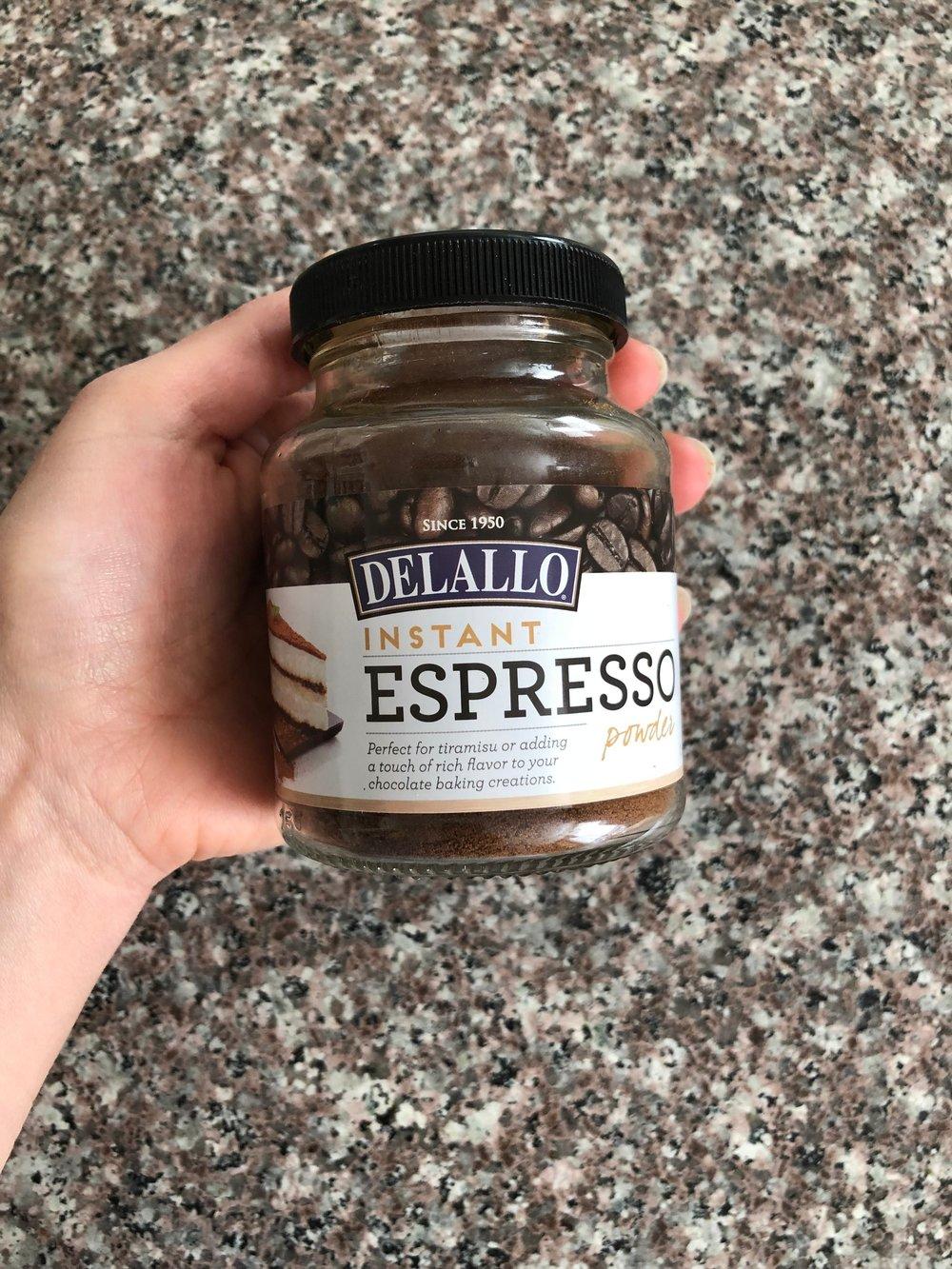Delallo Foods Instant Espresso Powder