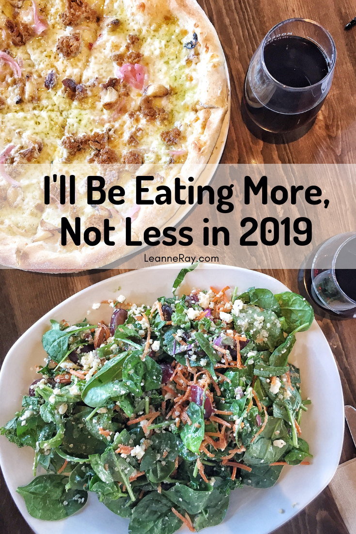 Leanne Ray Nutrition 2019 New Years Resolution