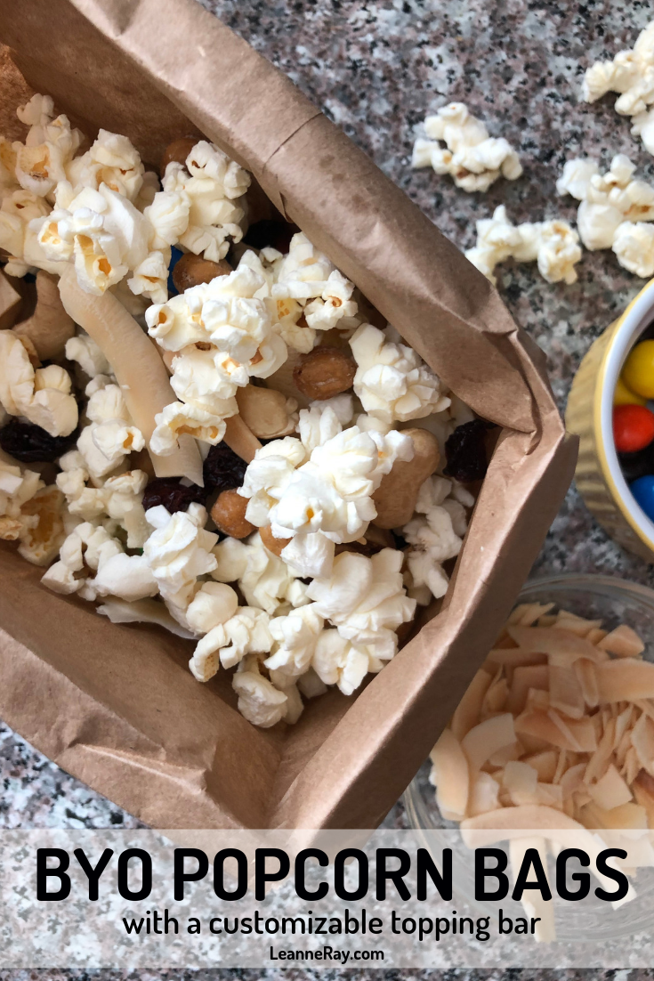 BYO Popcorn Bags