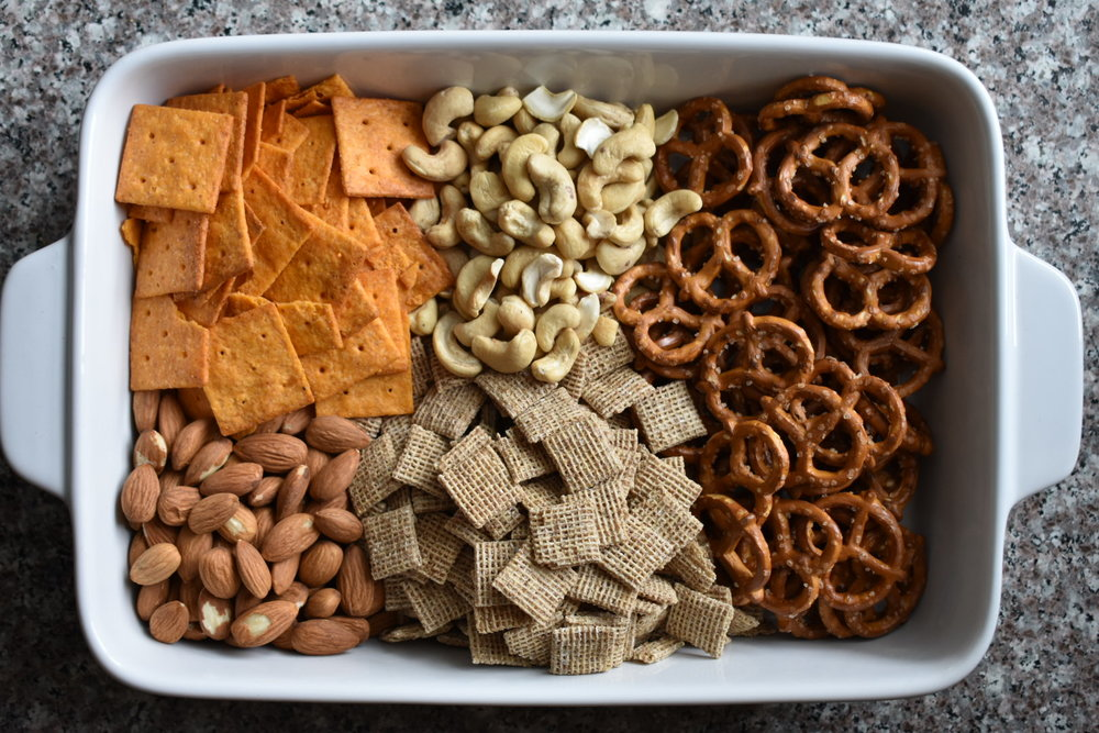 How to Make a Healthy Homemade Spicy Snack Mix