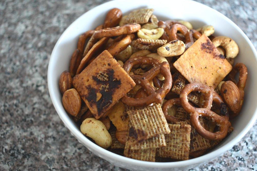 Gochujang Snack Mix