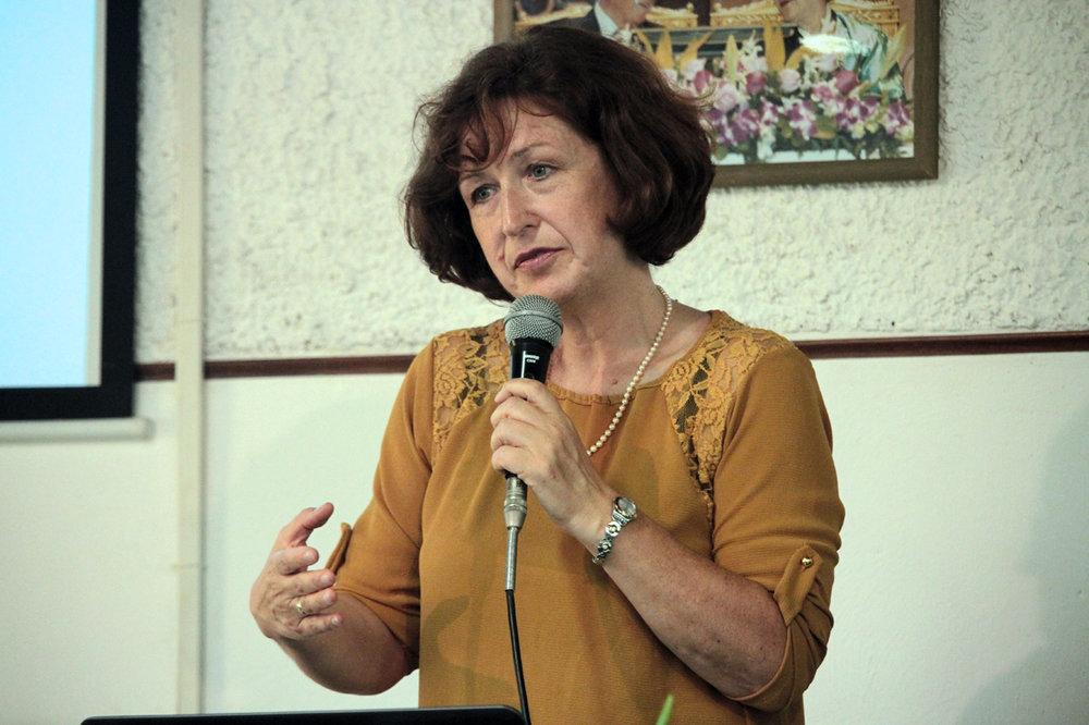 """ELISABETTA NISTRI    Presidente """"Federazione delle Donne per la Pace nel Mondo"""" Italia"""