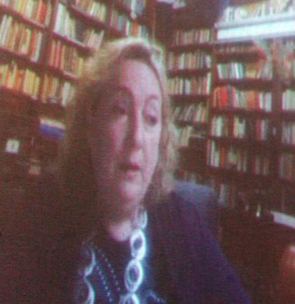 - La Prof. Emanuela Del Re in collegamento da Roma via skype