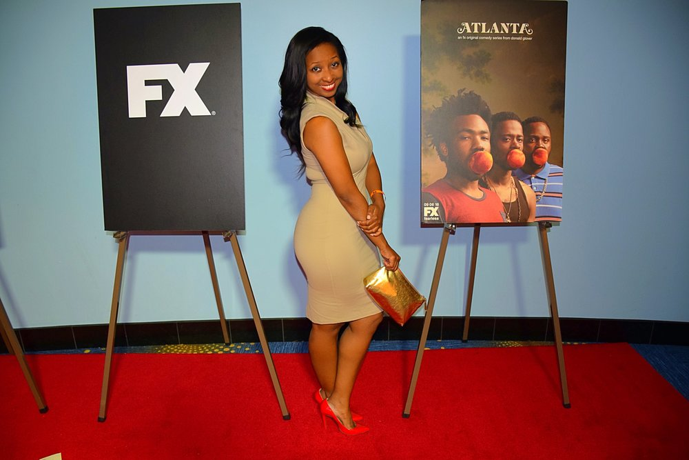 FX red carpet premiere of 'Atlanta'.