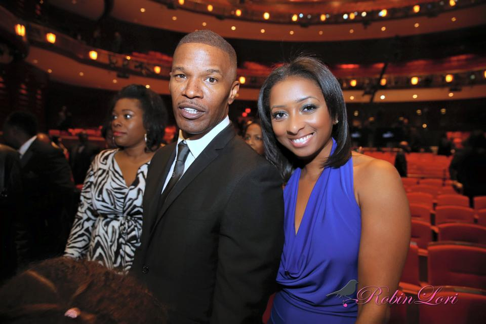 Trumpet Awards honoree, Jamie Fox.