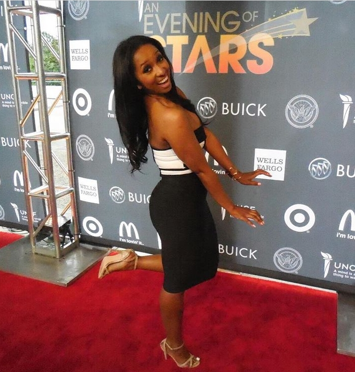 Raising scholoarship funds at BET's UNCF 'An Evening of Stars' taping.