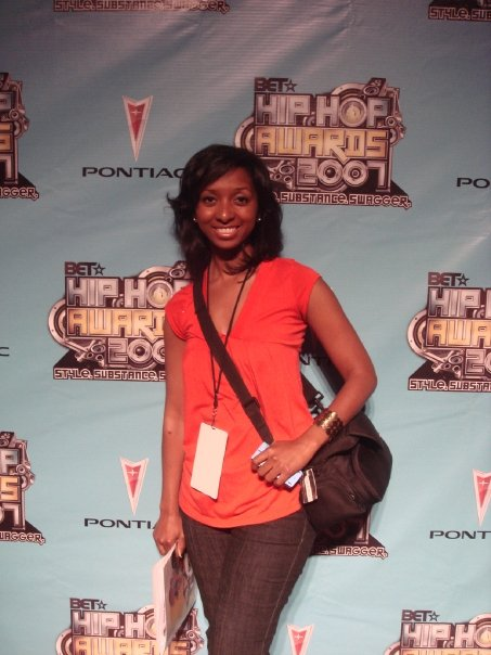 My first red carpet! BET Hip Hop Awards 2007.