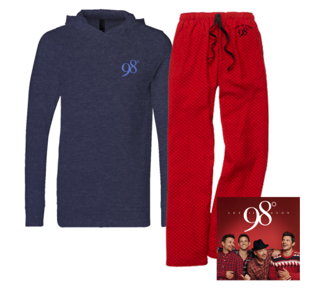 Let It Snow CD, Hooded Long Sleeve Tee and Flannel Pant Bundle - $98.98