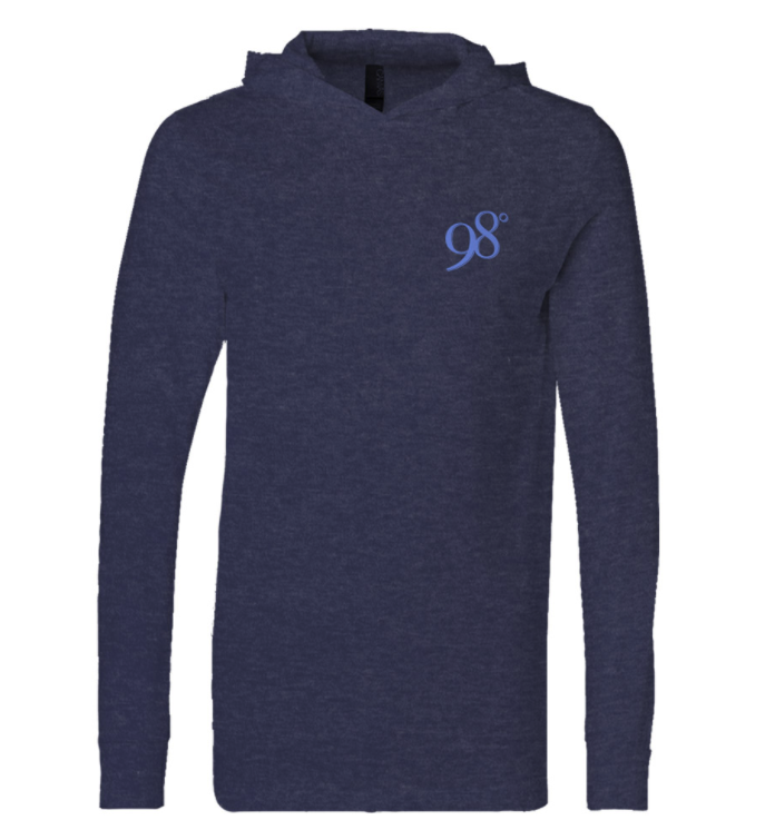 Long sleeve hooded tee - $39.98