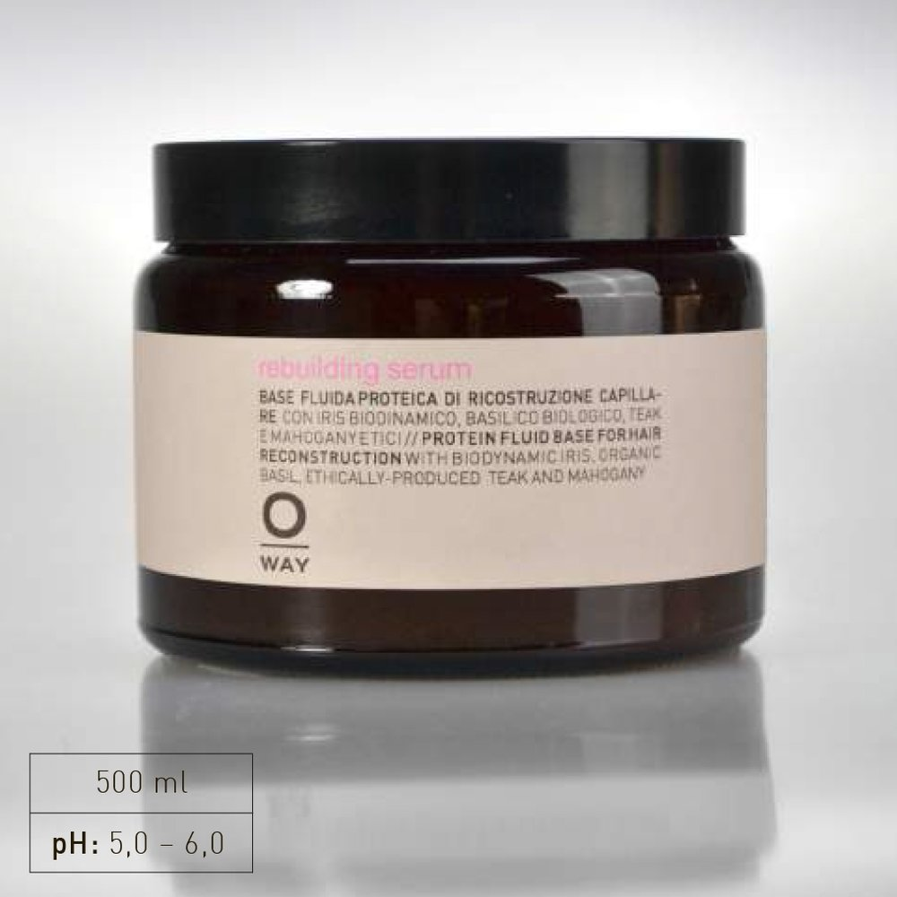 """+ A complex of 18 biomimetic amino acids with low molecular weight, which exactly reproduce the hair keratin structure, and """"intracellular cement"""" for the cuticle and cortes: they refill and recompact keratin chains, creating a continuous, cohesive structure.  +Increases the amino acids on the hair for a brighter, healthier appearance"""