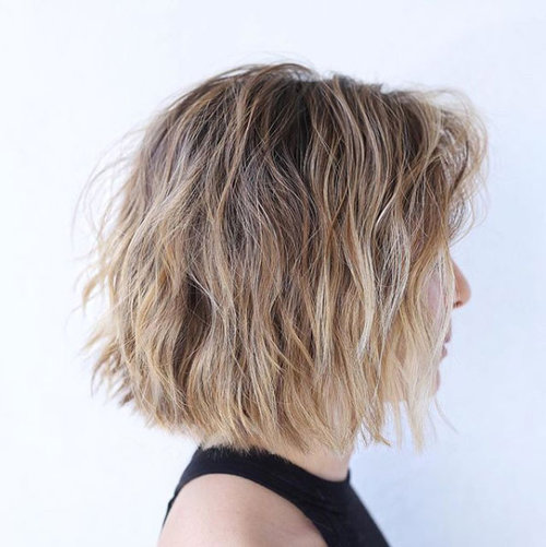 SENSUAL BEACHWAVES   Unlink the wild, overdone hair perms of the 80s, with Owave, we can achieve an extremely natural soft, wavy, beachy effect. This trend recurs every summer, but its also perfect year-round for those who don't want to give up the wild, sensual effect of the sea and salt water in their hair.  You can maintain this look at home simply by applying a sea salt spray and a good volumizer with hold such as Davines Liquid Spell