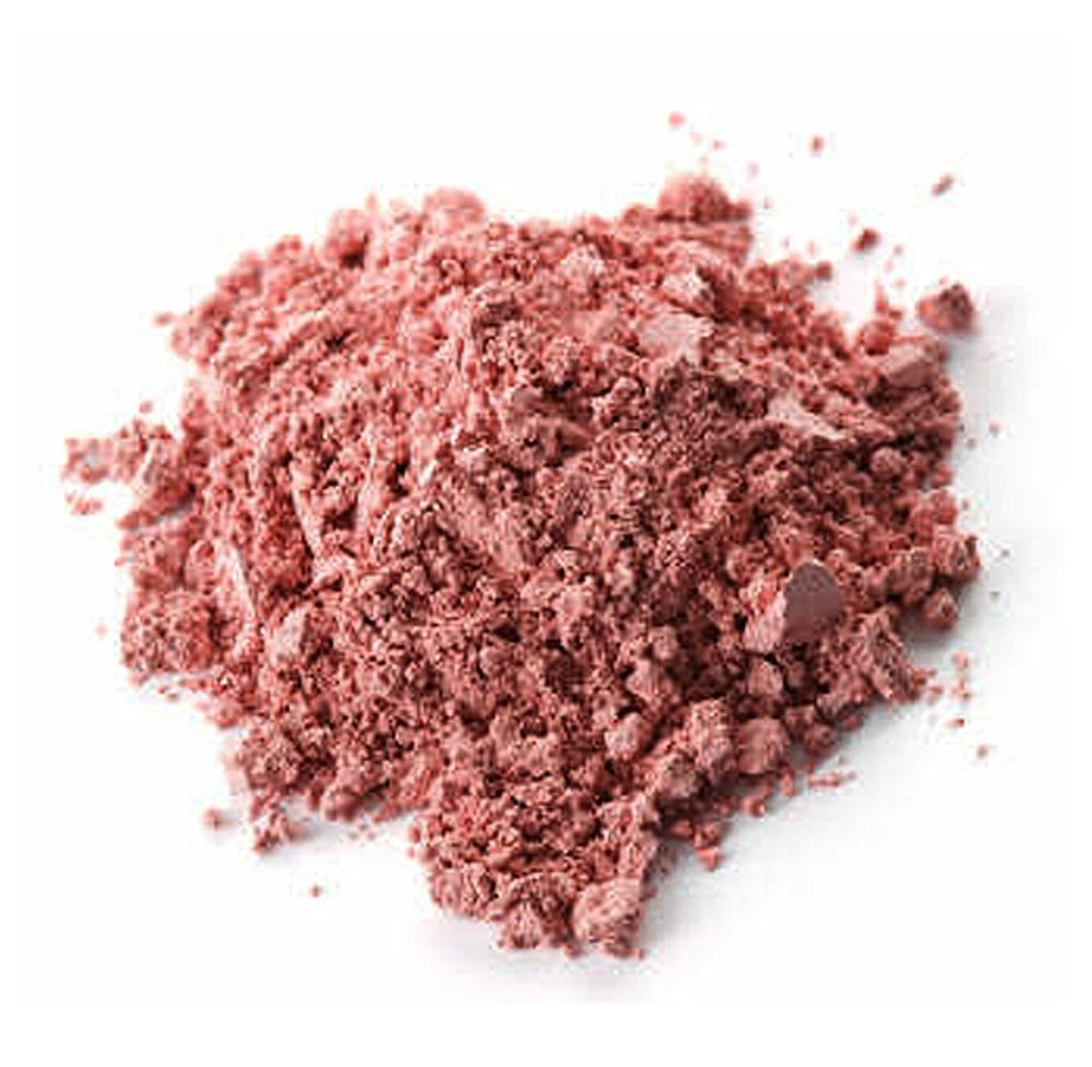 Fair Trade Amazonian Pink Clay  is rich in micro-minerals that gently remove excess scalp residue and regulate sebum production.