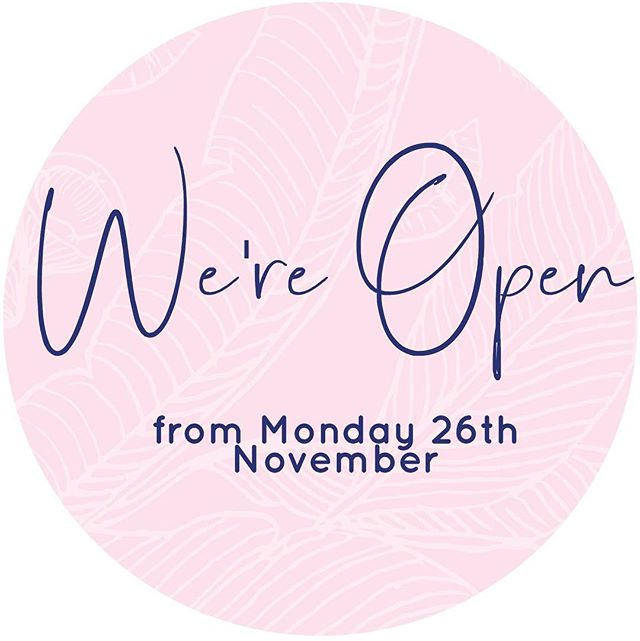 OPENING MONDAY 26th Of November 🙌🏽 We've had a minor set back in our fit out but that's okay because it's going to be even better 😍 we're giving away free coffee for one hour on our opening day so stay tuned!