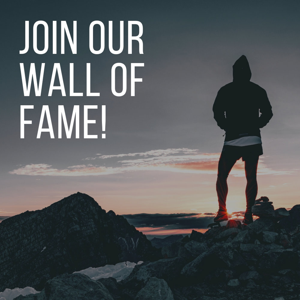 Join our wall of fame! Click here to enter a submission