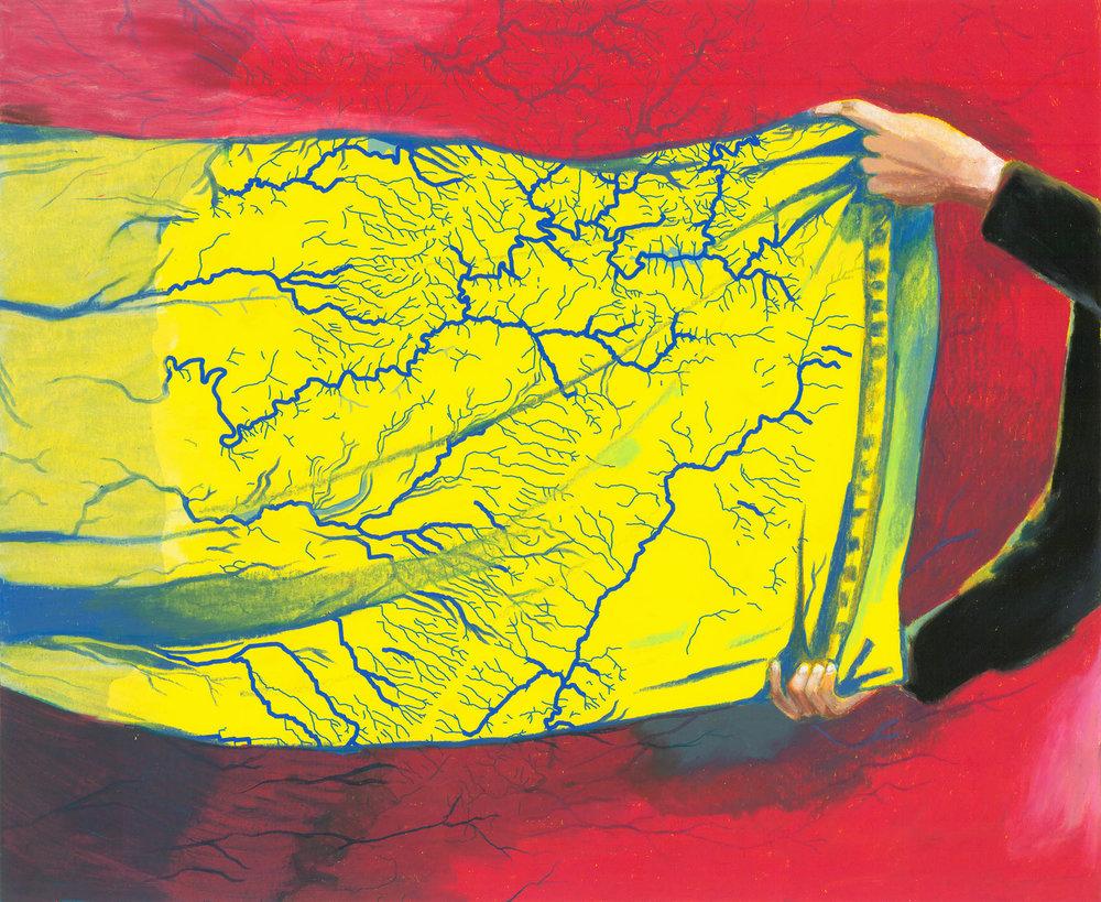 Folding Courses Yellow, Laura Wills