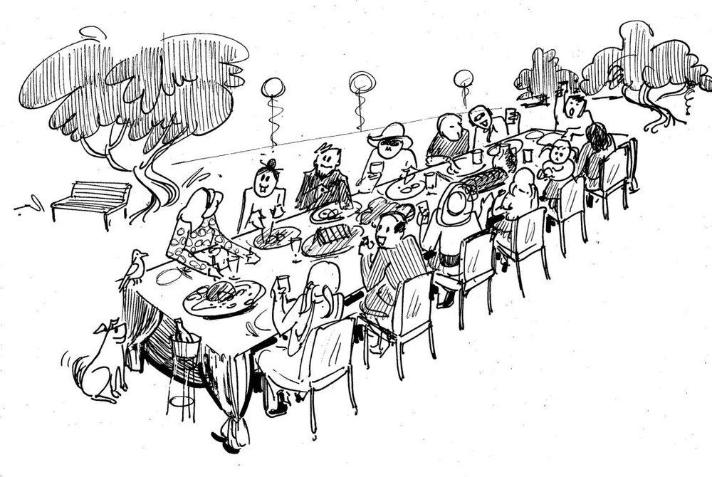Pot-Luck Dinners