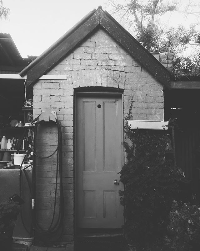 The quintessential Aussie outhouse